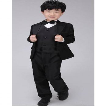 [globalbuy] Classic paragraph Boy Suit Flower Girl Dresses Children Wedding Costumes Boy S/4219669