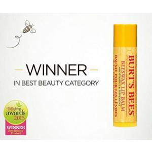 Burts bees beeswax lip balm with vitamin E  peppermint