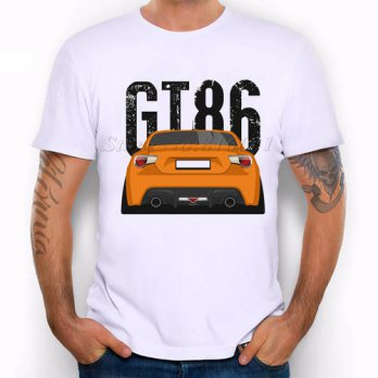 [globalbuy] 2016 New Arrival Mens Fashion retro Race car Design T shirt Cool Tops Short Sl/4218918