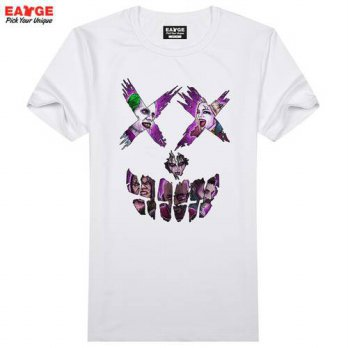 [globalbuy] Guys In Suicide Squad Skull T Shirt Pop Comic Movie Character T-shirt Cool Nov/4218890