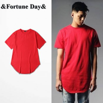 [globalbuy] Wholesale & Retail High Street Mens Brand red T shirt Short Sleeve O-neck Men /4218880