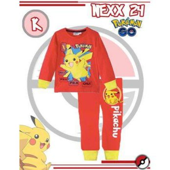 PAJAMAS ANAK NEXX ORANGE CORAK POKEMON (RSBY-2406)