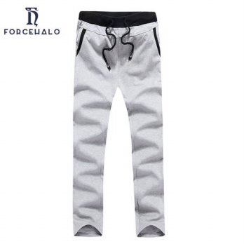 [globalbuy] 2016 New Fashion Autumn Men Sweat Pants Casual Solid Color Mens Parkour Trouse/4218675