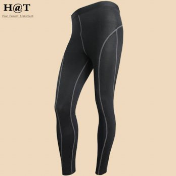 [globalbuy] J1030 Mens Pants Compression Active Tight Full Casual Long Pants Quick Dry Plu/4218650