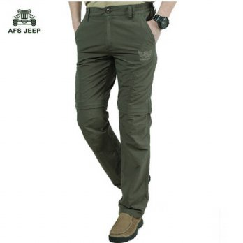 [globalbuy] 2016 Hot Sale AFS JEEP Brand Summer Of The New Straight Tube Casual Pants Out /4218615