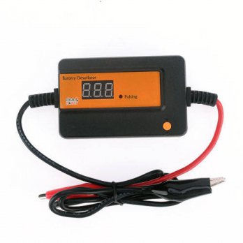 [globalbuy] Intelligent 400Ah Auto Pulse Battery Desulfator to Revive and Regenerate the B/3778995