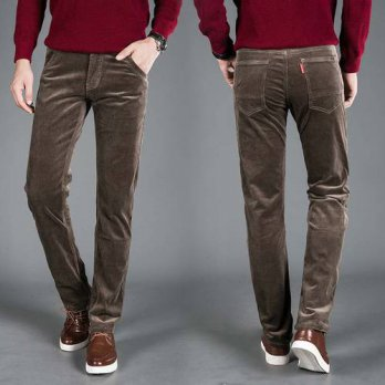 [globalbuy] High Quality New Autumn and Winter 2016 Male Business Mens Trousers Straight C/4218577