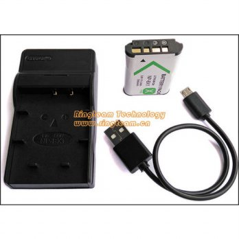 [globalbuy] NPBX1 NP-BX1 Battery and USB Charger (2-In-1) for Sony DSC & HDR Camera Camcor/3778947