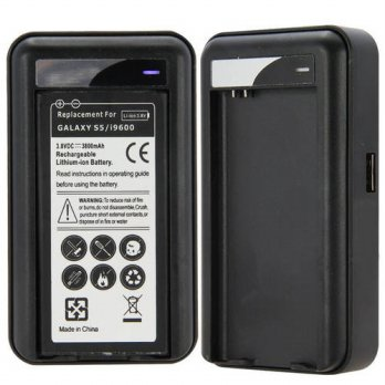 [globalbuy] Hot Selling Wall Travel Spare Battery Charger with USB for Samsung Galaxy S5 i/3778940