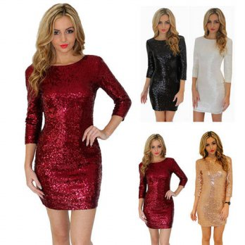 [globalbuy] Elegant Formal Cocktail Party Dresses 2016 New Summer Style Bodycon Female Dre/4224132