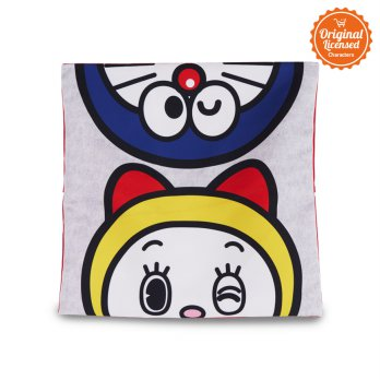 Doraemon Pillow Case Doraemon Grey
