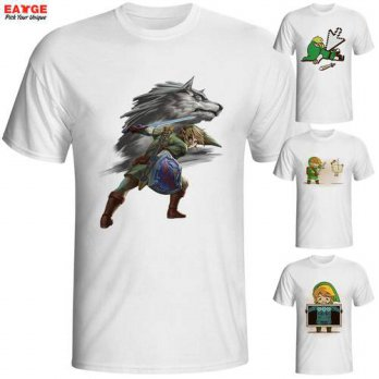 [globalbuy] Fashion New Design The Legend of Zelda Funny Cool Game T-shirt Link Short Slee/4215855