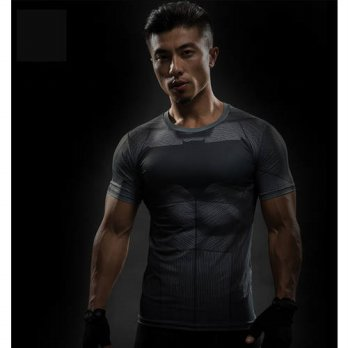 [globalbuy] Batman VS Superman T Shirt Tee 3D Printed straight shirts body building virile/4215783