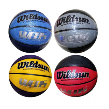 Bola Basket Pria Dewasa BasketBall Ball Size 7 Full Rubber 24cm 043-5