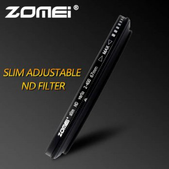 [globalbuy] ZOMEI 49/52/55/58/62/67/72/77/82mm ND Filter Fader Neutral Density Adjustable /3695137