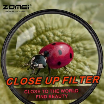 [globalbuy] ZOMEI 62mm Close up Macro +1 +2 +3 +4 +8 +10 Filter For Pentax 18-135mm 18-250/3694889