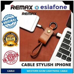 [esiafone lifestyle] REMAX Western Type Fast Charging Lightning Cable for iPhone/iPad/iPod
