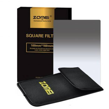 [globalbuy] Zomei Gradual grey ND2 ND4 ND8 ND16 Square Z-PRO Series Filter for Cokin Z zom/3694840