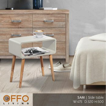 Offo Living - Meja Samping Kecil / Side Table SAM