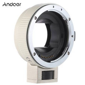 [globalbuy] Andoer EF-NEXII Lens Adapter Ring Anti-Shake Auto Focus AF for Canon EF EF-S L/3694698