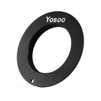 [globalbuy] For Canon EOS EF Mount Adapter Ring Black 5D II III 6D 7D 70D 650D 700D M42 Mo/3694682