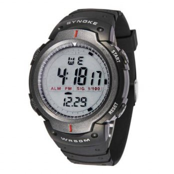 [globalbuy] EDT-SYNOKE Digital Sports Watches Night Light Running Alarm Chronograph Stop w/3694628