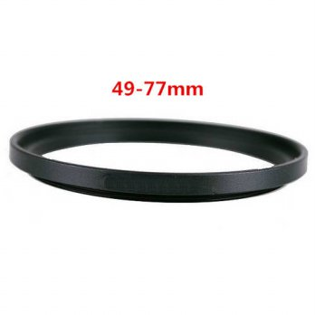 [globalbuy] 49-77 mm Metal Step Up Rings Lens Adapter Filter Set/3694613