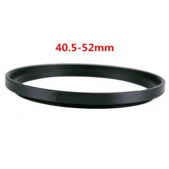 [globalbuy] 40.5-52 mm Metal Step Up Rings Lens Adapter Filter Set/3694606