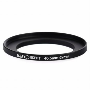 [globalbuy] K&F Concept Metal Stepping Rings 40.5-52mm Step Up Adapter Filter Ring for Can/3694520