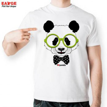 [globalbuy] I Love Panda T Shirt Design Inspired By Cartoon Printed T-shirt Style Cool Fas/4215185