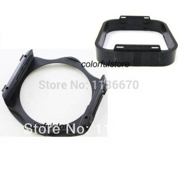 [globalbuy]  2Pcs Square Colour Filters Filter DSLR SLR Digital Camera Lens Hood Holder fo/3694473