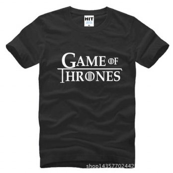 [globalbuy] Hot Sale Mens T-shirt Purified Cotton Game of Throne Song of Ice and Fire5 Tee/4215162