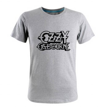 [globalbuy] 015 Summer Casual Cotton Ozzy Osbourne T Shirts Men Brand Hip Hop Short Sleeve/4215131