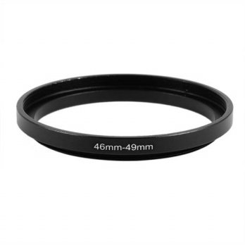 [globalbuy] 2016 Hot 46mm to 49mm Camera Filter Lens 46mm-49mm Step Up Ring Adapter/3694397