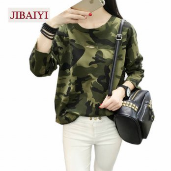 [globalbuy] Harajuku Bape T-shirt Women Slim Casual Hollow Female Costumes Kpop BF Hole Ba/4221596