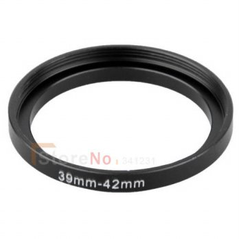 [globalbuy] 10pcs 39mm-42mm 39-42 mm 39 to 42 Step Up Ring Lens Filter Adapter ring/3694274