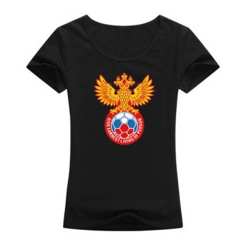 [globalbuy] 2016 hot women tops tees Russia design T shirt high quality fashion clothes su/4221623