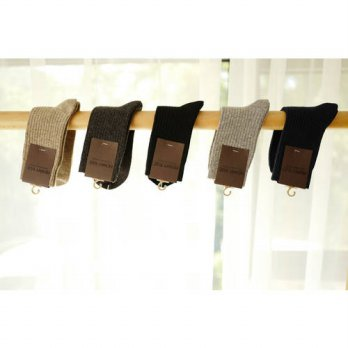 [globalbuy] 2016 Winter New Mens Wool Socks Cashmere Socks Needle Softening Thickening Men/4213322