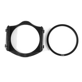 [globalbuy] EDT-77mm Adapter Ring + 3-Slot Filter Holder for Cokin P Series Camera/3694239