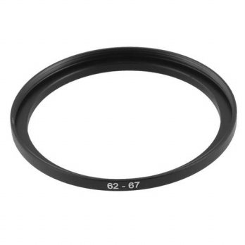 [globalbuy] 2x Hot Selling Camera Replacement Metal 62mm-67mm Step Up Filter Ring Adapter/3694227