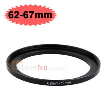 [globalbuy] 10pcs 62mm-67mm 62-67mm 62 to 67 Step down Filter Ring Adapter For Filter lens/3694215