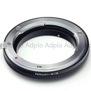 [globalbuy] pixco lens adapter fits for Nikon AI lens to Olympus 4/3 Mount camera/3694180