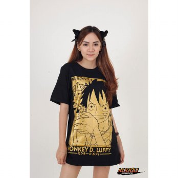 Kaos Luffy Gold Ultimate - One Piece