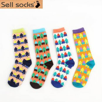 [globalbuy] Forest Harajuku Japanese lovely School fahsion Style socks for women Pure Cott/4213202