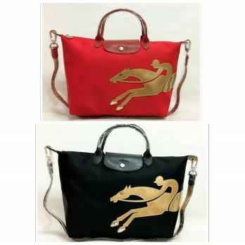 Longchamp Cavalier Golden Horse Exclusive