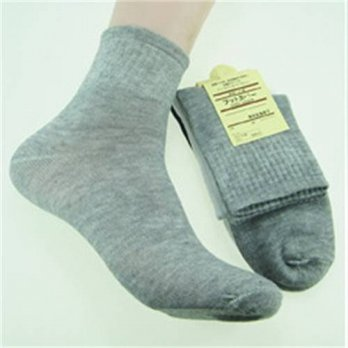 [globalbuy] 10 pairs 2016 New Fashion Socks Business Elite Comfortable Sweat Solid Bamboo /4213197