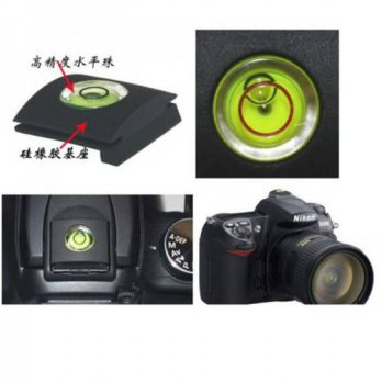 [globalbuy] 5 x Flash Hot Shoe Cover Cap Bubble Spirit Level For DSLR Camera WIth Tracking/3693934