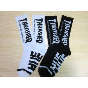 [globalbuy] 24pcs=12pair NEW christms cotton Fashion 2 colors thrasher weed H thicken bott/4213095