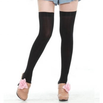 [globalbuy] Lolita tights Princess sweet lolita stocking Summer velvet stocking thigh sock/4213061