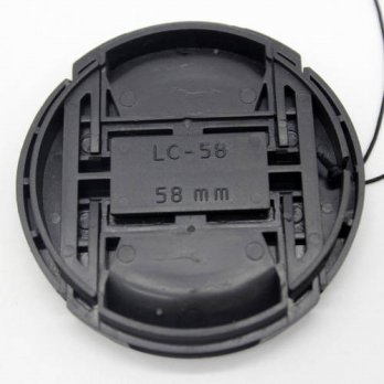 [globalbuy] Universal Camera Lens Cap Protection Cover 58mm lens cover for Sony Minolta Ta/3693838